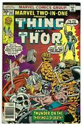 Marvel Two In One 22 Vf+ 8.5 Bronze Age Thing Thor