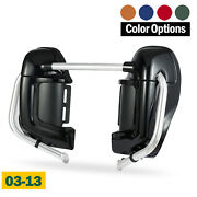 Color Matched Lower Vented Fairing Set For Harley Hd Road Glide 2003-2013