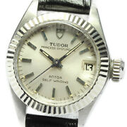 Tudor Princess Oyster Date 9231/4 Cal.2671 Silver Dial Automatic Ladies_647000