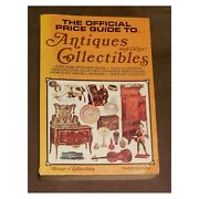 Bookthe Official Price Guide To Antiques And Other House Of Collectibles 3rd Ed