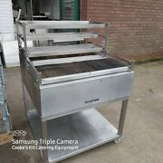 Clay Oven Robata Charcoal Grill In Excellent Condition 92 X 97cm 3 Tier