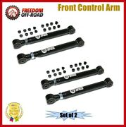 Freedom Adjustable Front Control Arms Pair 1-6lift For Dodge Ram 1500 2500 3500