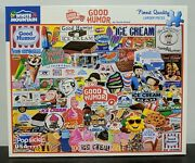 White Mountain 1000 Piece Jigsaw Puzzle Good Humor Ice Cream - Complete