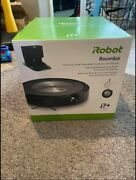 Irobot Roomba J755020 J7+ Plus Robot Vacuum Cleaner And Clean Base New Sealed