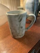 Peters Pottery, Mound Bayou Ms, Mccarty Protege, Older Jade Dirty Retired Mug