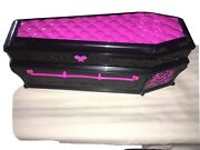 Monster High Draculaura Dead Tired Coffin Bed