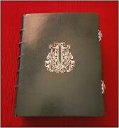 ⚜ 1858 Silver Clasped ⚜ Illustrated Missal ⚜ Christian Catholic Antique Bible