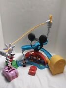 Fisher-price Disney Mickey Mouse Clubhouse Zip Slide And Zoom Playset