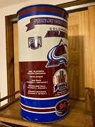 Colorado Avalanche Nhl National Hockey League Denver Trash Can Stanley Cup 1996