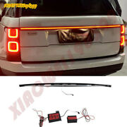 Rear Door Trunk Led Tail Light Cover 1pcs Fit For Land Rover Range Rover 14-2022