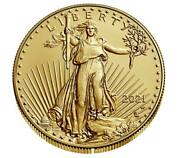 American Eagle 2021 W One Ounce Gold Uncirculated Coin 21ehn