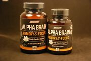 Onnit Alpha Brain Memory And Focus 90+30 = 120 Capsules