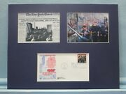 1989 - The Berlin Wall Falls Honored By The First Day Cover Of Its Own Stamp