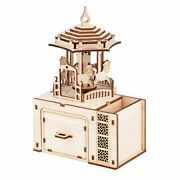 Diy Wooden Puzzle Music Box Model Kits Toys For Children