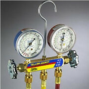 Manifold Charging Gauges W/ 5and039 Hoses - Yellow Jacket
