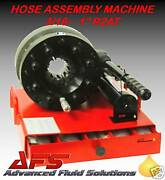 Hydraulic Hose Assembly Swaging Machine Mobile 1 2wire