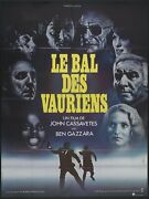 Killing Of A Chinese Bookie Original Movie Poster French Grande John Cassavettes