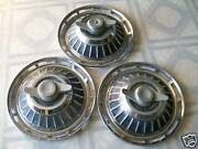 1962 Chevy Spinner Hubcap/ Set Of 3