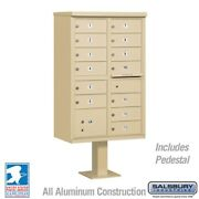 13 Door Cluster Mailbox - Usps Approved - All Colors In Stock. Free Shipping