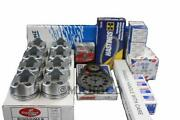 Gm Chevy 7.4 454 Master Engine Rebuild Overhaul Kit 1970-1990 With Moly Rings