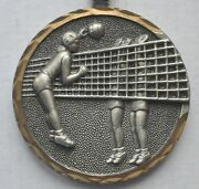 1979 2nd Place Women's Volleyball Alicante Medal Huge