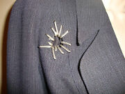 Stunning New Thierry Mugler Pant Suit With Crazy Cool Metal Detailing