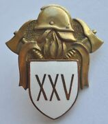 Ussr Estonia 25 Years Of Service Fire Fighting Badge
