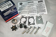 New Johnson Evinrude Oem Outboard Water Pump And Impeller Repair Kit 396644 Brp