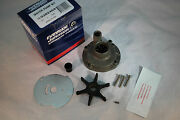 New Johnson Evinrude Oem Water Pump And Impeller Kit 382468 Brp/omc W Housing