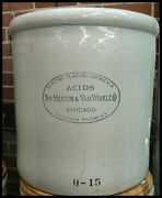 Red Wing Stoneware Co. 15 Gallon Advertising Crock
