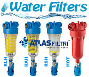 Whole House Water Filters Atlas - Hydra Rah / Rlh / Rsh / Hot - With Back-wash