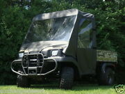 Full Cab Enclosure W Clear Lexan Windshield- Kawasaki Mule 3000 3010 4000 4010