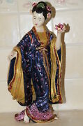 5k Jay Strongwater 12 Ming Geisha Lady Figurine Limited Edition Of 250 Rare
