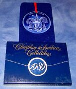 1989 Christmas In America Collection Bing And Grondahl New England Bandg Ornament