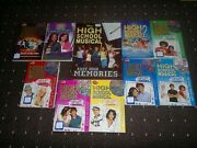 10 High School Musical Books By Various £2.75 Uk Pandp