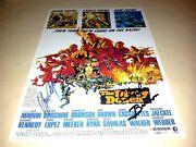 The Dirty Dozen Pp Signed 12x8 Poster Lee Marvin