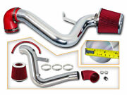 Red Cold Air Induction Intake Kit+ Air Filter Chevy 95-02 Cavalier Z24 2.3 2.4