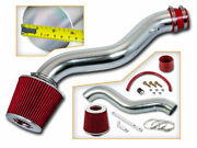 Ram Air Induction Intake Kit+ Dry Filter For 88-91 Civic All / Crx Si 1.6 1.5 L4