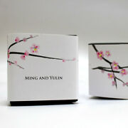 100 Cherry Blossom Printed Favor Boxes Wedding Favors