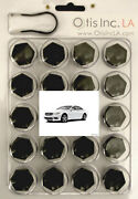 99-9712-b-cl-class Black Lug Covers Mercedes And Amg Cl Class Wheels Free Shipping