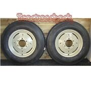 Front Wheels Tyres And Tubes To Fit Fordson Dexta