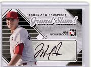 Will Middlebrooks 2011 Itg Heroes And Prospects Silver Grand Slam Auto Rc True 1/1