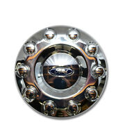 Oem New 2005-2016 Ford F-450 F-550 Front 19.5 Wheel 2wd Chrome Center Cap 4x2