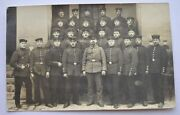 1915 Wwi Germany Soldiers 58 Infantry Division Group Photo Feldpost