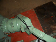 Heavy Duty Ratchet / Jaw Coupling With Manual Enagement Lever, Excellent Cond.