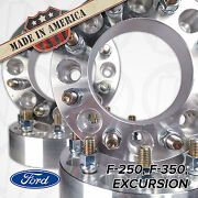 Usa Made   Ford Wheel Spacers 2 Thick   F250 F350 Excursion   8 Lug 170mm 8x170