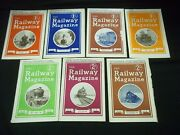 1942 The Railway Magazine Lot Of 7 Complete Year - Great Photos - G 1590