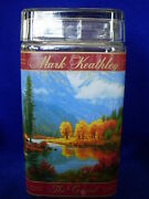 Collectible Mark Keathley The Grand Art Scenic Glass Apothecary Jar