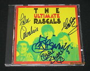 The Rascals-band Autographed Hand Signed By All 4 Members Very Rare