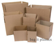 .cardboard Boxes - Single Wall Packing Cartons Storage Removals Mailing Post Box